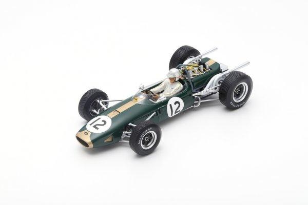 Brabham BT19 Jack Brabham Frankreich GP 1966 Spark 1:18