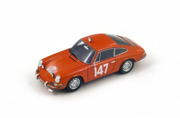 Porsche 911T Linge/Falk Rallye Monte Carlo 1965 Spark 1:43