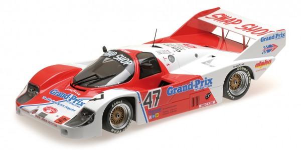 Porsche 956K Galica/Sutherland/Henn 1000km Brands Hatch 1983 Minichamps 1:18