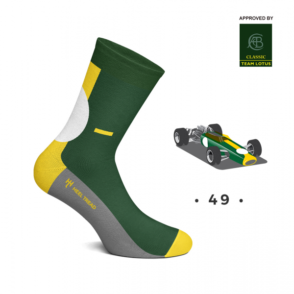 Heel Tread Socken – 49