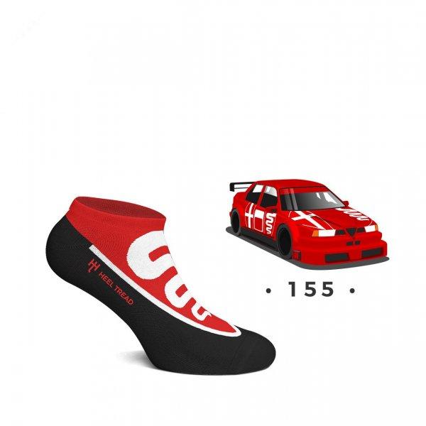 Heel Tread Sneaker Socks – 155