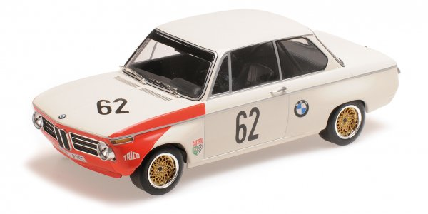 BMW 2002 Hahne/Quester 6h Brands Hatch 1969 Minichamps 1:18