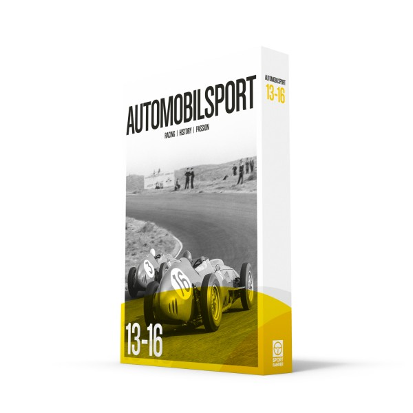 Slipcase AUTOMOBILSPORT #13-#16