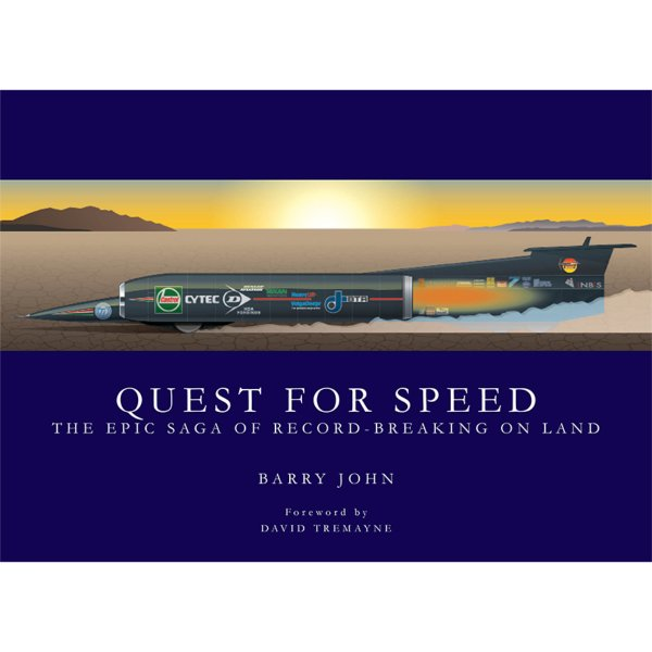 Quest for Speed – The Epic Saga of Record-Breaking on Land – Cover
