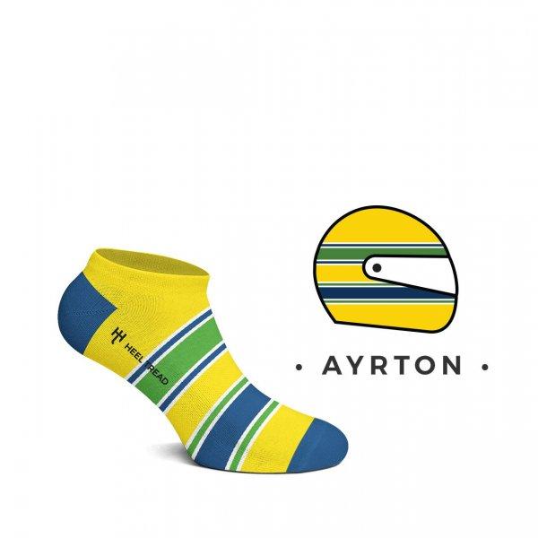 Heel Tread Sneakersocken – Ayrton