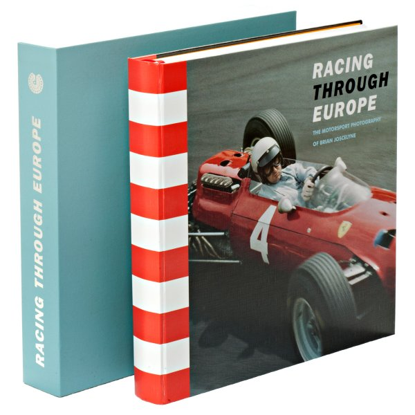 Racing Through Europe – The Motor Sport Photography of Brian Joscelyne – Ferrari cover with slipcase