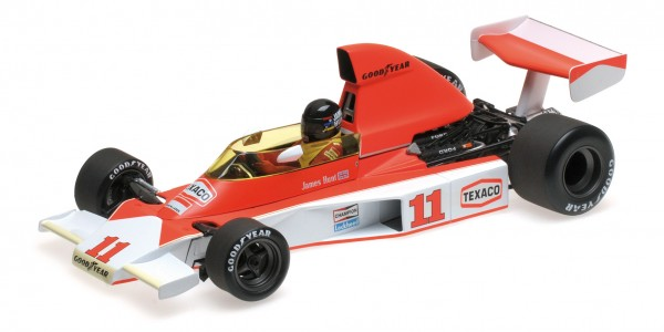 McLaren M23 James Hunt South African GP 1976 Minichamps 1:18