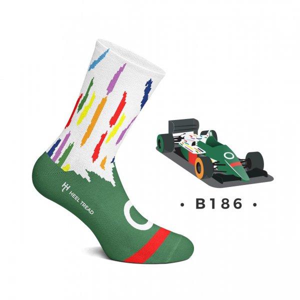Heel Tread Socken – B186