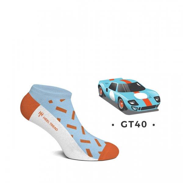 Heel Tread Sneakersocken – GT40