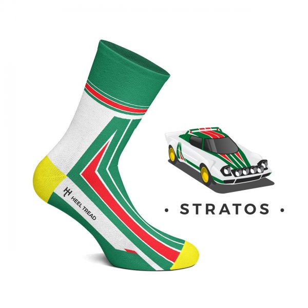 Heel Tread Socken – Stratos (neues Design)