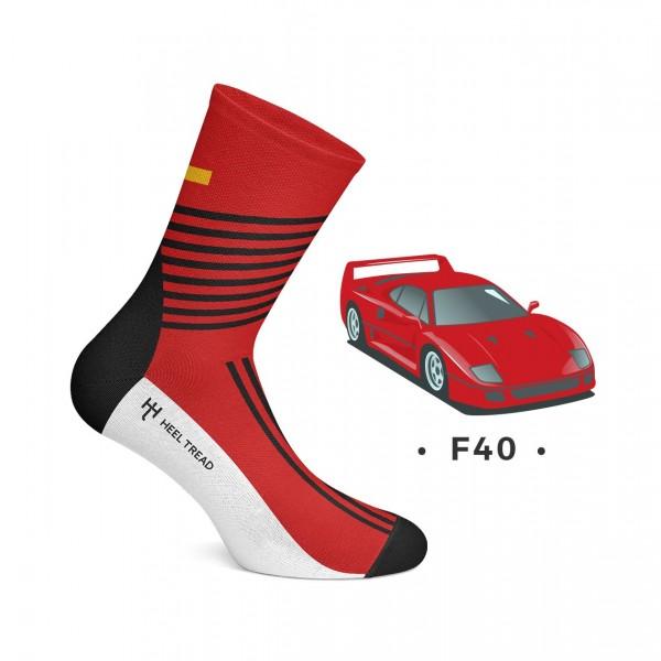 Heel Tread Socken – F40