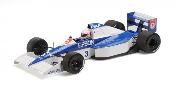 Tyrrell 018 Saturo Nakajima American GP 1990 Minichamps 1:18