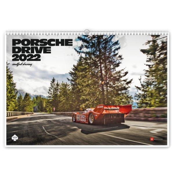 CURVES – Porsche Drive Kalender 2022
