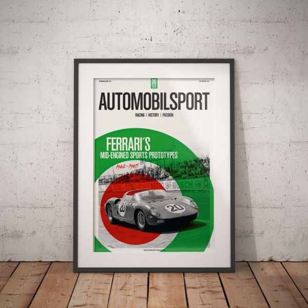Poster AUTOMOBILSPORT #10 (2 sided) – Ferrari 275 P