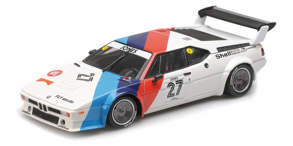 BMW M1 Procar Alan Jones Procar Series 1979 Minichamps 1:12