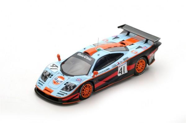 McLaren F1 GTR Olofsson/Raphanel/Gounon 24h Le Mans 1997 Spark 1:43