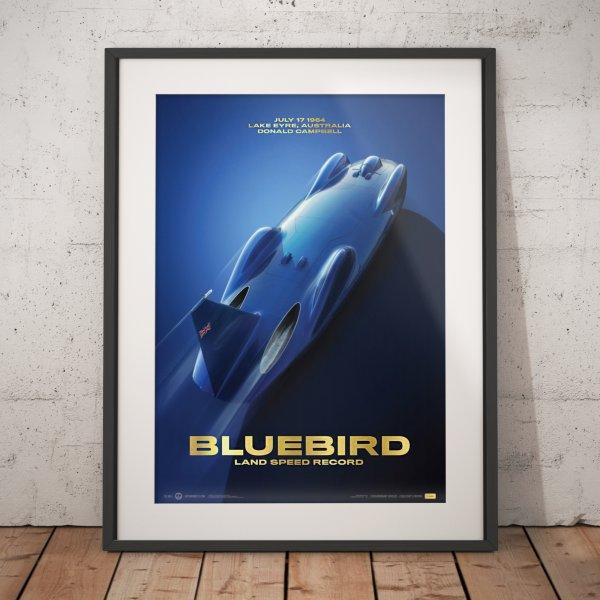 Bluebird – Donald Campbell – 1964 – Poster | Collector's Edition