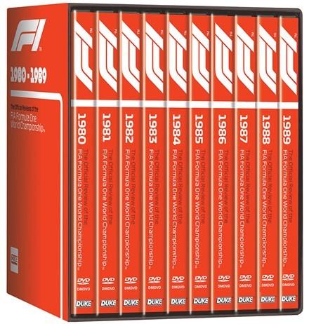 F1 1980–89 – Box Set