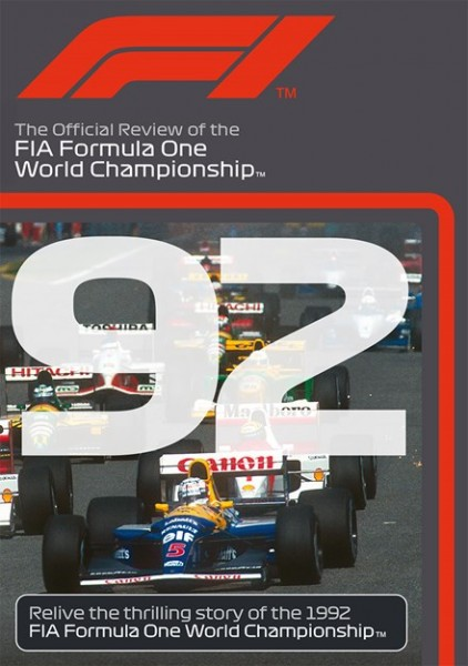 F1 1992 – The Official Review of the FIA Formula One World Championship