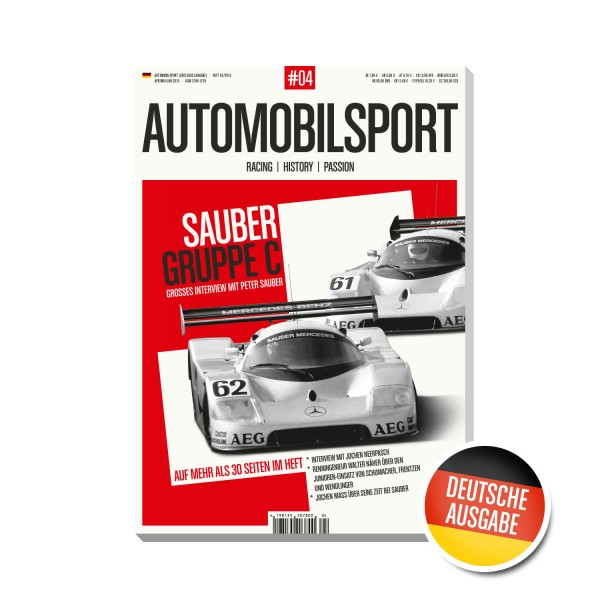 AUTOMOBILSPORT #04 (01/2015) – German edition