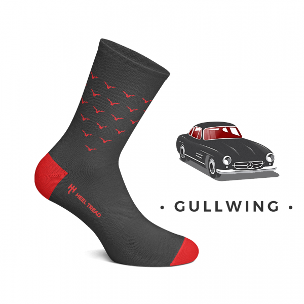 Heel Tread Socken – Gullwing
