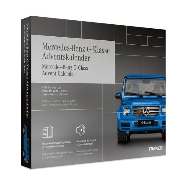 Mercedes Benz G-Klasse Advent calendar Franzis 1:43