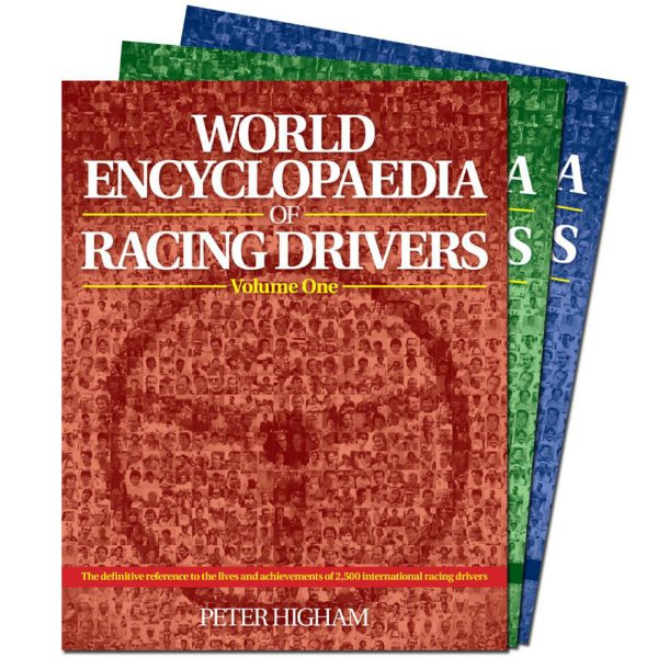 World Encyclopaedia of Racing Drivers – Cover