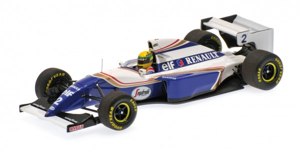 Williams FW16 Ayrton Senna Pacific GP 1994 Minichamps 1:18