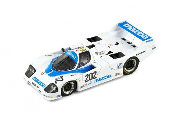 Mazda 757 Kennedy/Galvin/Dieudonne 24h Le Mans 1987 Spark 1:43