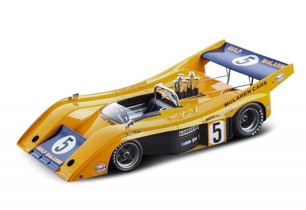 McLaren M20 Denny Hulme CanAm Road America 1972 Technomodel 1:18