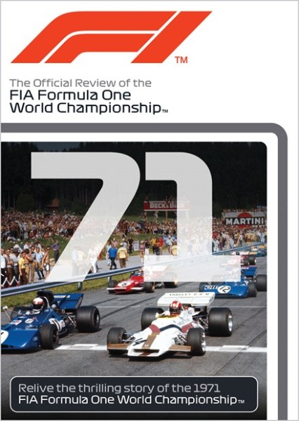 F1 1971 – The Official Review of the FIA Formula One World Championship