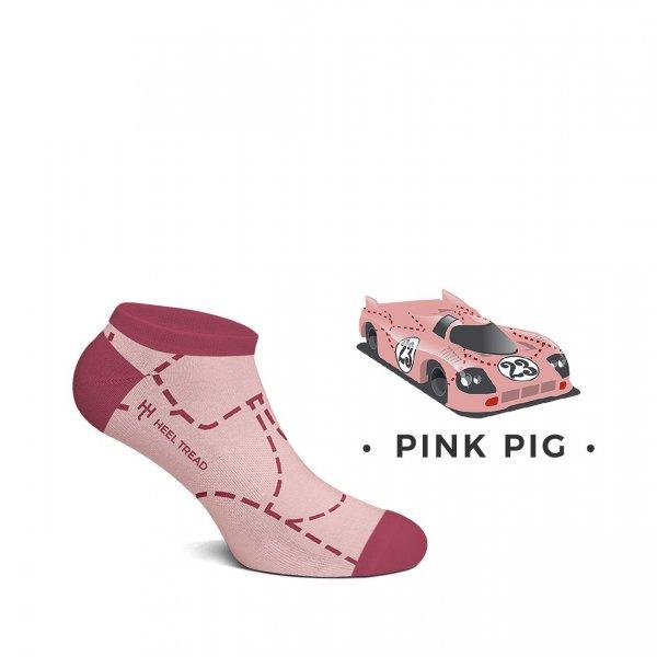 Heel Tread Sneaker – Pink Pig