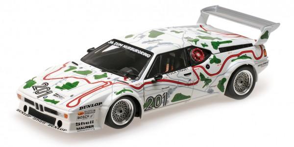 BMW M1 Gr.4 Stuck/Piquet 1000km Nürburgring 1980 Minichamps 1:12