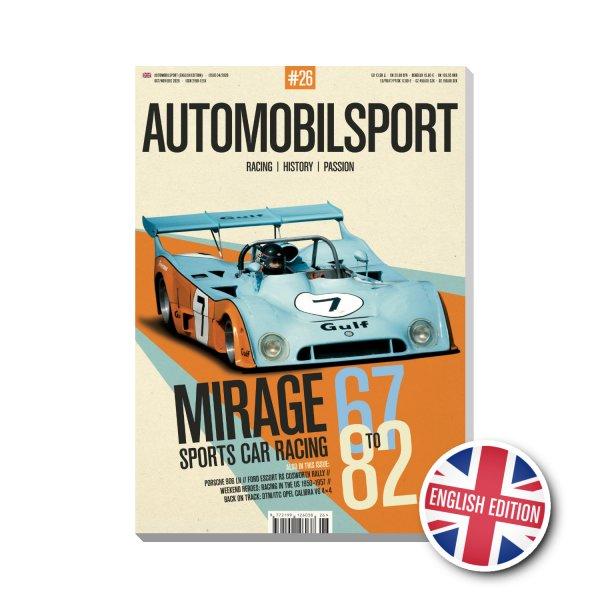 AUTOMOBILSPORT #26 (04/2020) – Englische Ausgabe