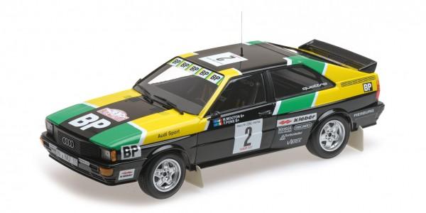 Audi Quattro Mouton/Pons Rally des 1000 Pistes 1981 Minichamps 1:18