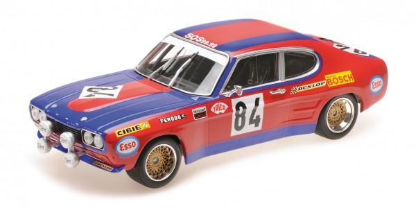 Ford Capri RS 2600 Rouget/Geurie 24h Le Mans 1972 Minichamps 1:18