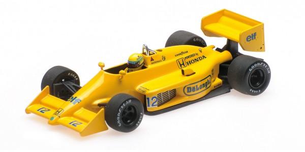 Lotus 99T Ayrton Senna Monaco GP 1987 Minichamps 1:43