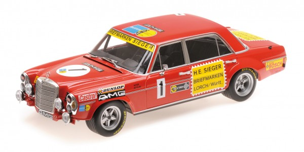 Mercedes-Benz 300 SEL 6.8 Heyer/Betzler 24h Nürburgring 1972 Minichamps 1:18
