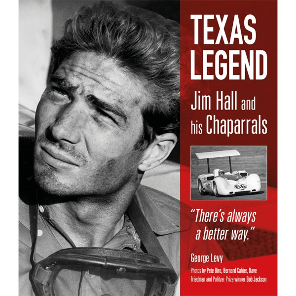 Texas Legend – Jim Hall and His Chaparrals – Cover