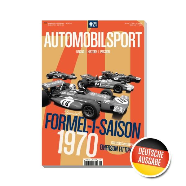 Cover AUTOMOBILSPORT #24 (02/2020) – German Edition