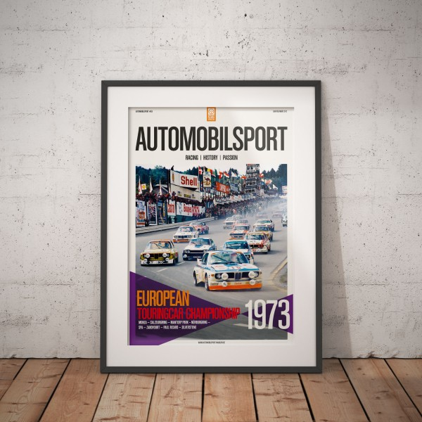 Poster AUTOMOBILSPORT #03 (2-seitig) – Ford Capri RS
