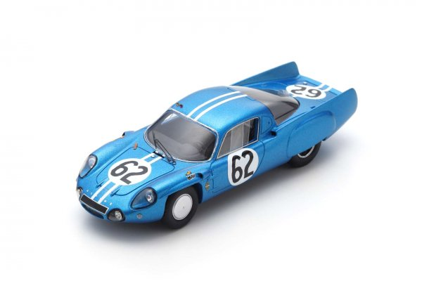 Alpine A210 Grandsire/Cella 24h Le Mans 1966 Spark 1:43