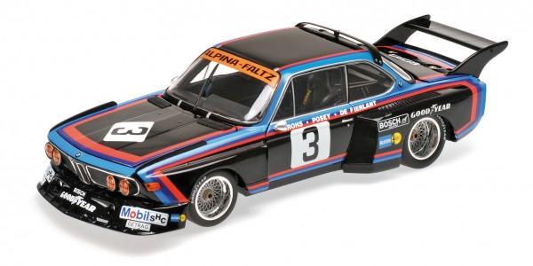BMW 3.5 CSL De Fierlant/Grohs 6h Silverstone 1976 Minichamps 1:12