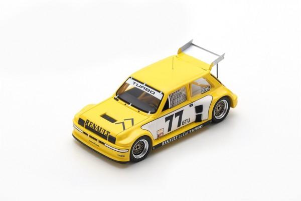 Renault Le Car Turbo Patrick Jacquemart IMSA Road Atlanta 1981 Spark 1:43