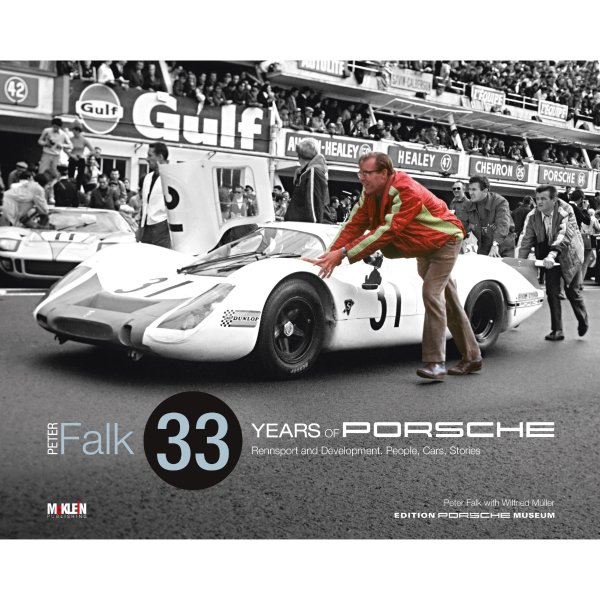 Peter Falk – 33 Years of Porsche Rennsport and Development – Limited edition – Englische Ausgabe