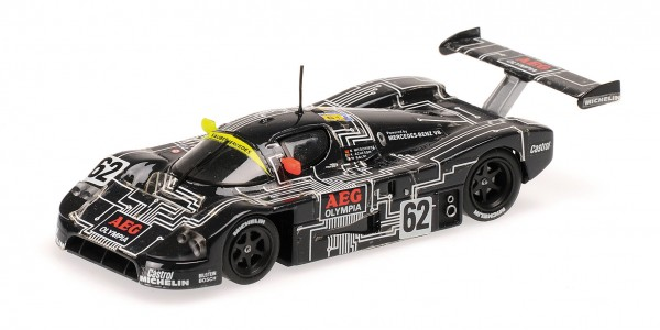 Sauber-Mercedes C9 Niedzwiedz/Acheson 24h Le Mans 1988 Minichamps 1:18