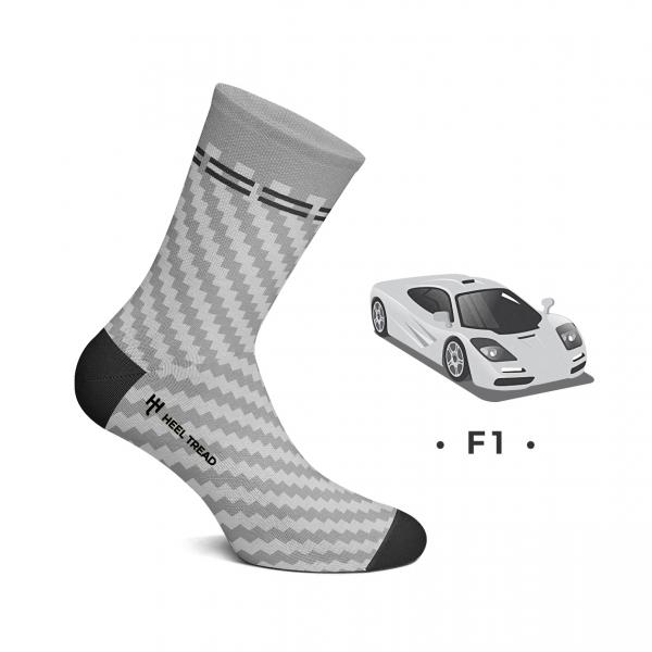 Heel Tread Socken – F1
