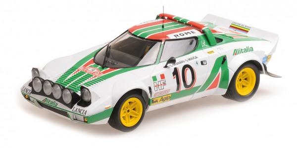 Lancia Stratos Munari/Maiga Rally Monte Carlo 1976 Minichamps 1:18