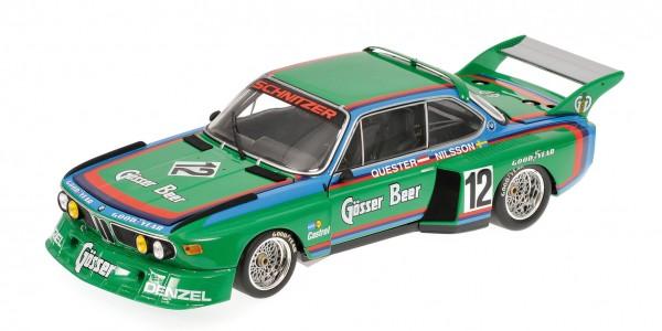 BMW 3.5 CSL Nilsson/Quester 6h Zeltweg 1976 Minichamps 1:12