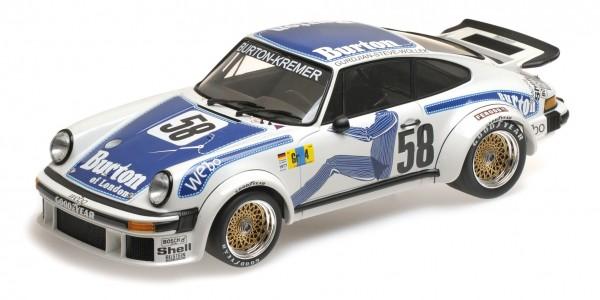 Porsche 934 Wollek/Gurdijan/'Steve' 24h Le Mans 1977 Minichamps 1:12